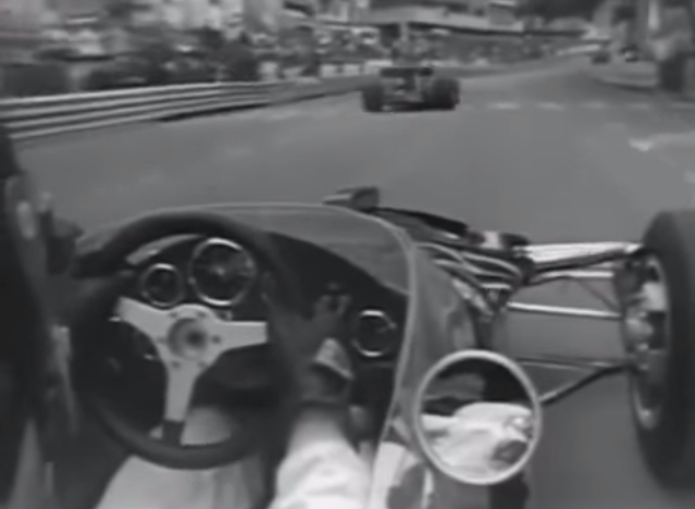 Gp de Monaco 1970 - Graham Hill on board