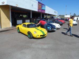 Mark I #21, no track day no Autódromo de Brasília