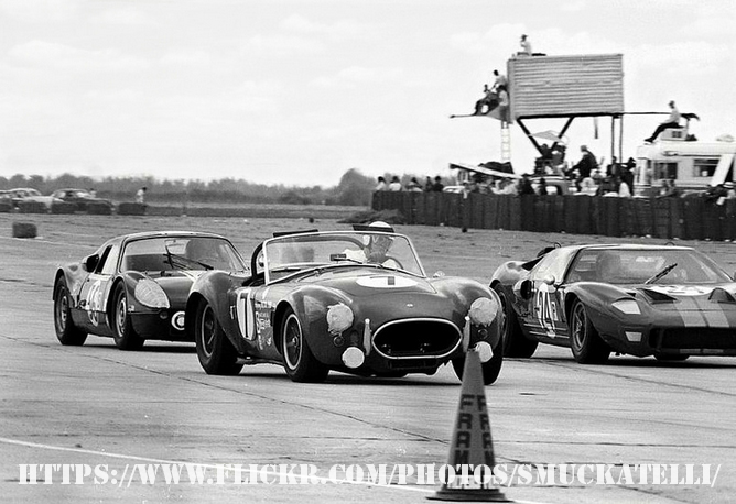 Racing at Sebring in 1966