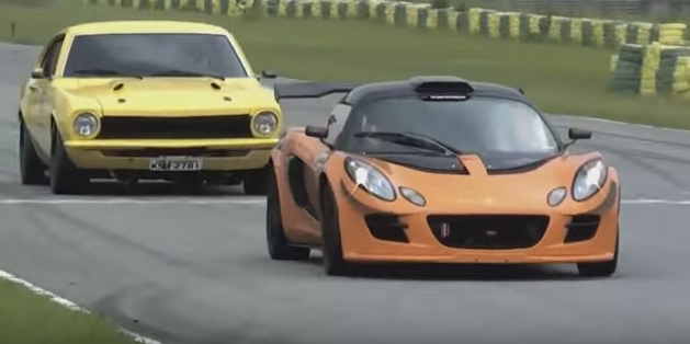 Ford Maverick vs Lotus Exige S B