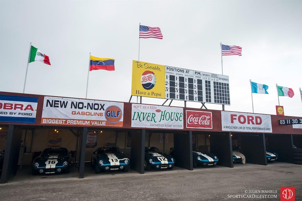 Shelby Daytona Cobra Coupe paddock