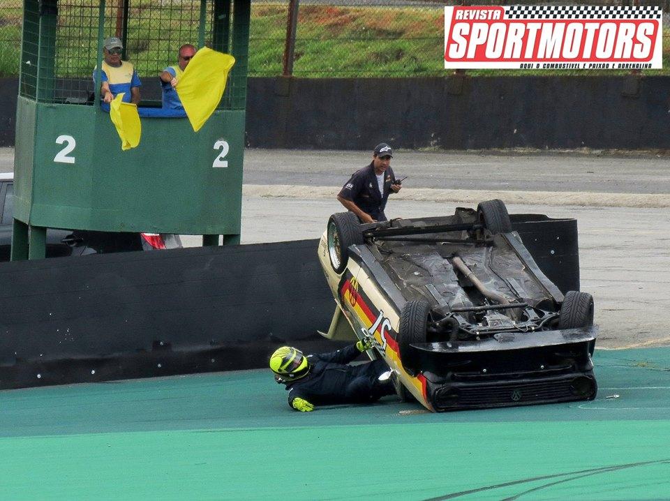 Passat#57 e Puma#17 acidente E