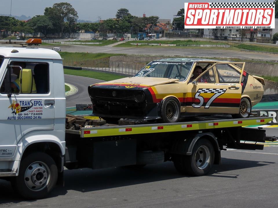 Passat#57 e Puma#17 acidente L