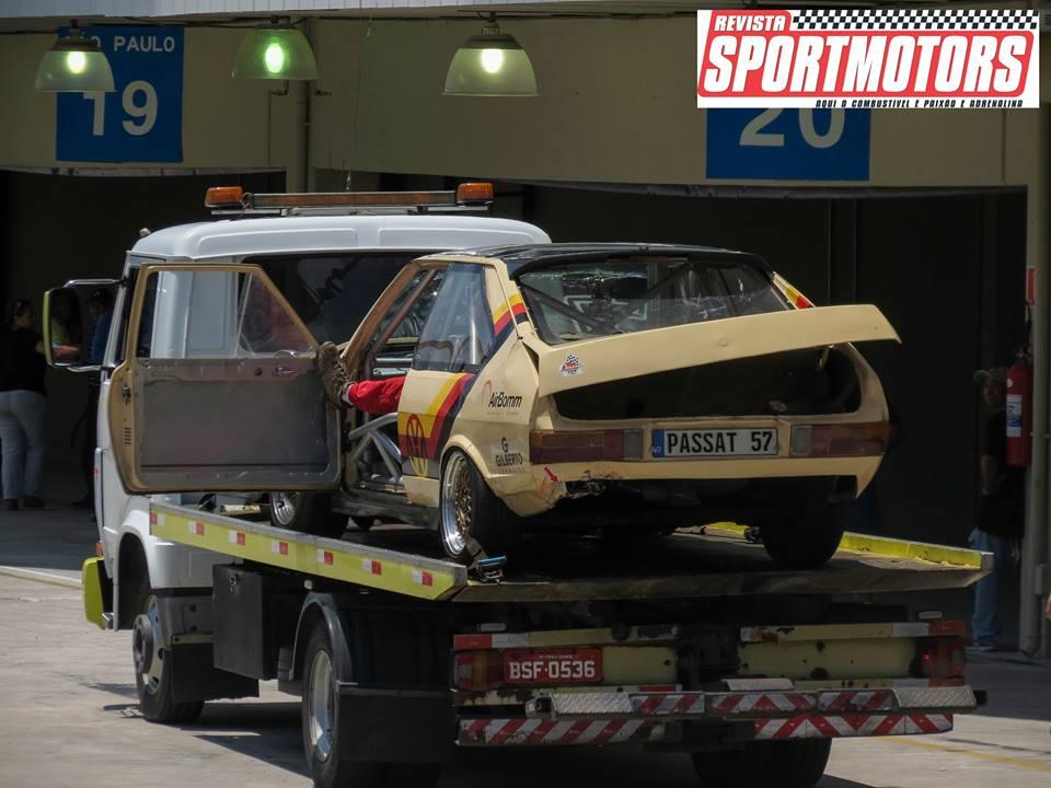Passat#57 e Puma#17 acidente M