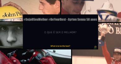 FÓRMULA 1 – AYRTON SENNA #SejaOSeuMelhor #BeYourBest