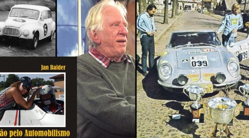 JAN BALDER: PILOTO, CHEFE DE EQUIPE, PROMOTOR DE RALLYES E COMENTARISTA